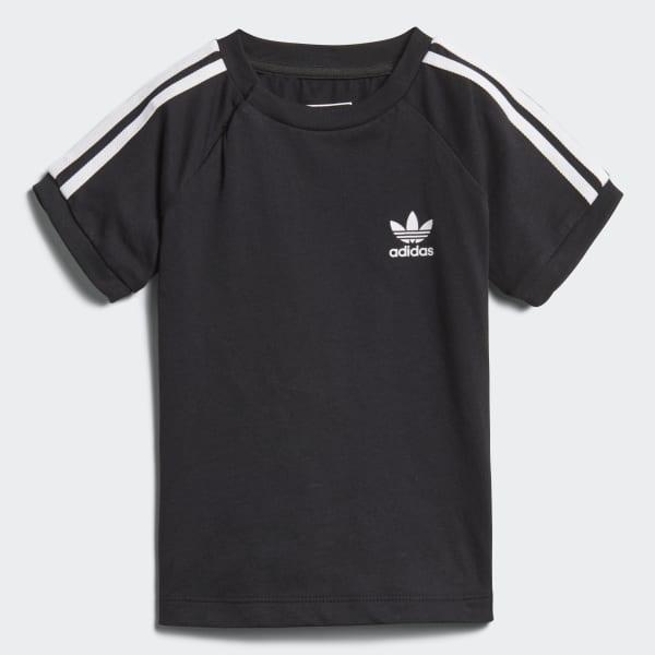 California T-shirt zwart DH2462