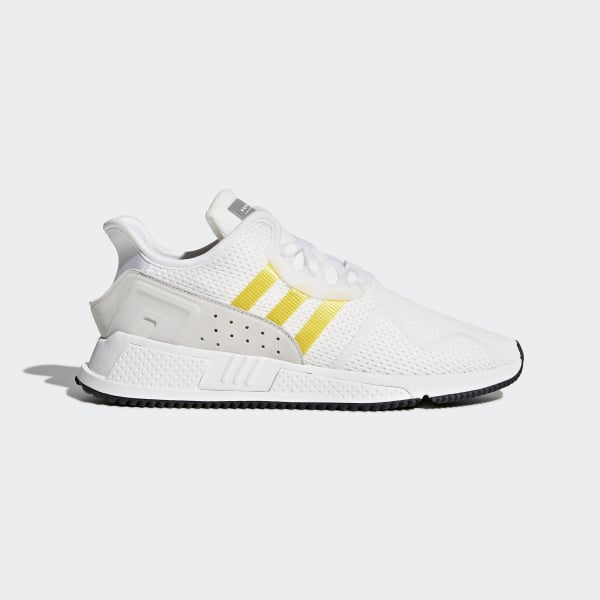 low cost 70abf fc84c EQT Cushion ADV Shoes Ftwr WhiteEqt YellowSilver Metallic CQ2375