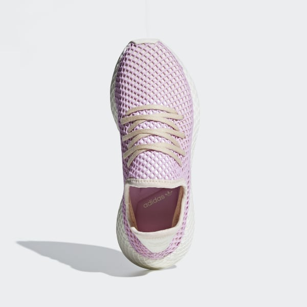 super popular 61eb9 1b36e Deerupt Shoes Linen  Linen  Clear Lilac B37600