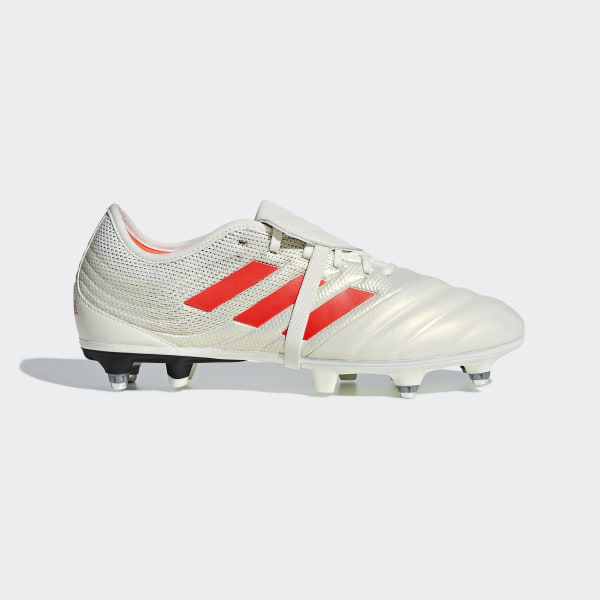 new style 07563 d4aad Copa Gloro 19.2 Soft Ground Boots Off White   Solar Red   Core Black G28989