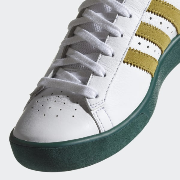 info for 2979e 414ab Forest Hills Shoes Ftwr White  Gold Met.  Collegiate Green AQ0921