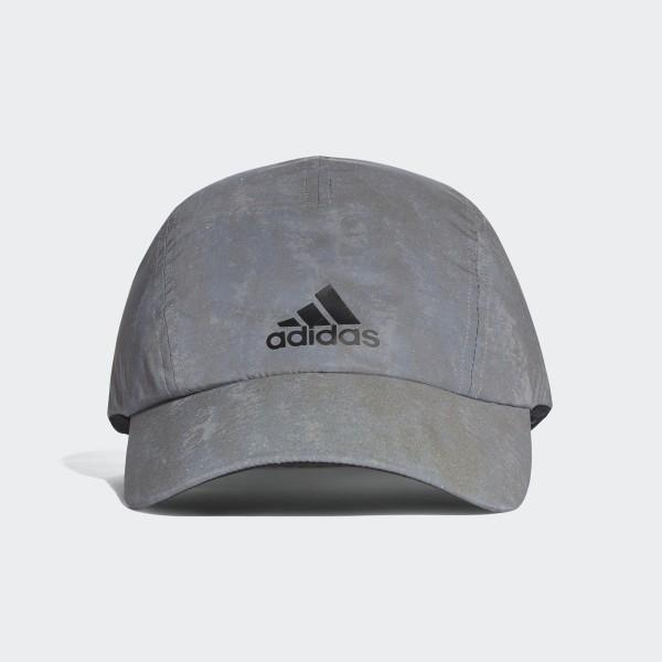 174fd8a75d172 Czapka Run Reflective Grey   Reflective Silver   Black CW0754