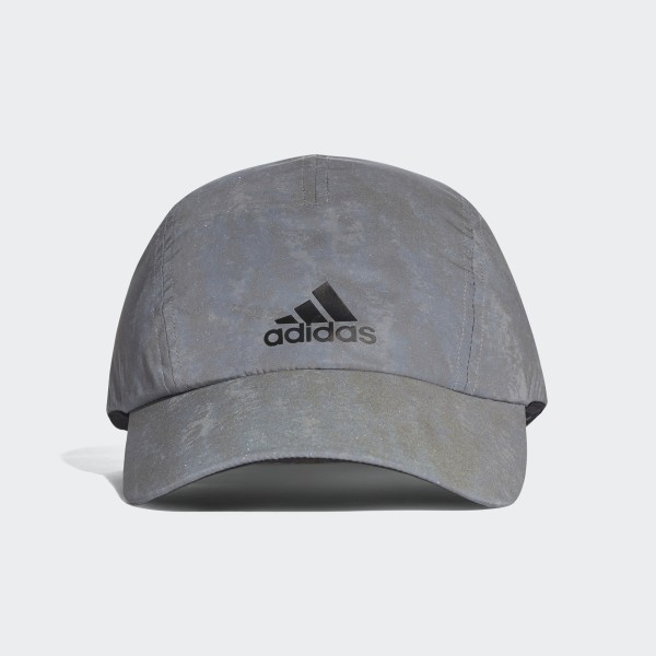 96582dacb14 Run Reflective Cap Grey Reflective Silver Black CW0754