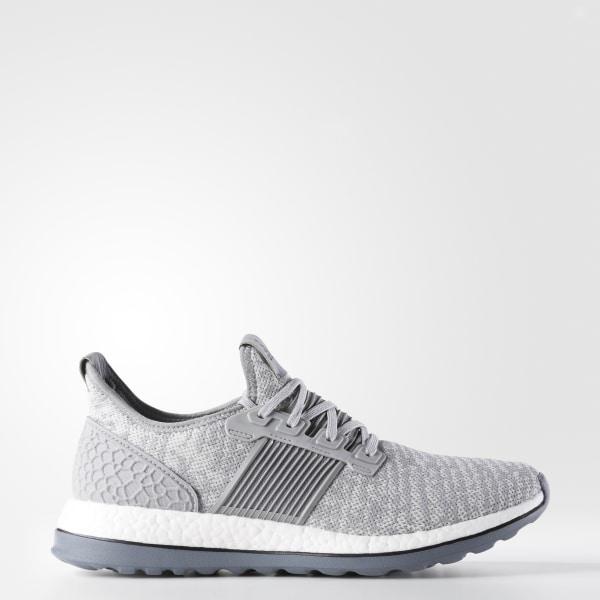 89c6215e956 adidas Men s Pure Boost ZG Shoes - Grey