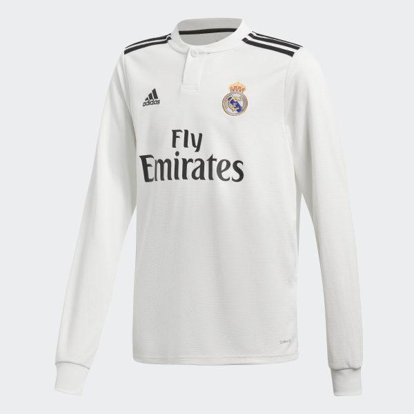 Camiseta primera equipación Real Madrid Core White   Black CG0546 1a428b361001f