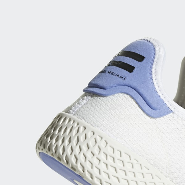 e66cece1c4ff4 Pharrell Williams Tennis Hu Shoes Ftwr White   Real Lilac   Chalk White  BD7521