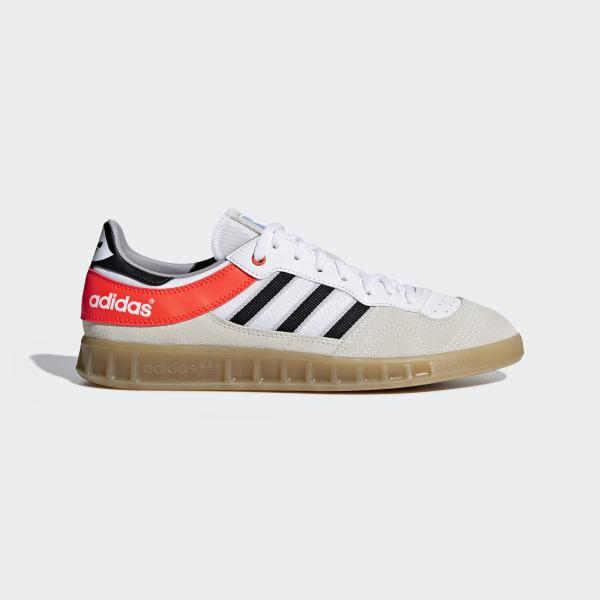 71c922cf8a7835 Handball Top Shoes Cloud White   Core Black   Solar Red AQ0905
