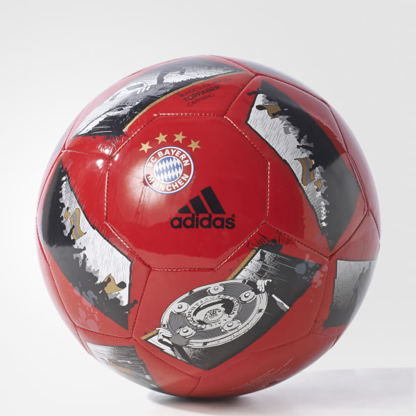Bola Futebol Capitano Bayern de Munique TOP FCB TRUE RED SILVER MET.  12c74099233a6