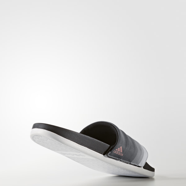 new products e48b2 b123a adilette Cloudfoam Ultra Armad Slides Core Black  Tech Rust Metallic   Cloud White BB3732