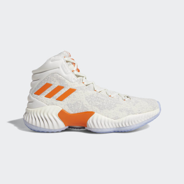 5e8feda6b29fcb Candace Parker Pro Bounce 18 Shoes Off White   Orange   Running White F97243