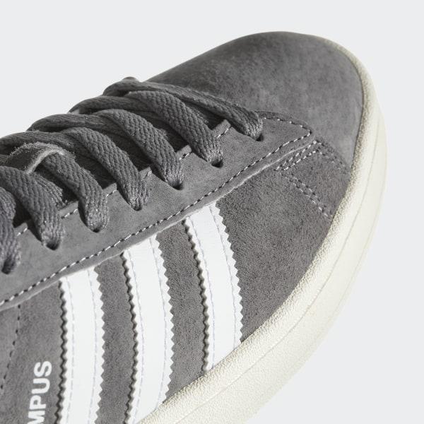 8b9fa364fc5 Campus Shoes Grey Three   Footwear White   Chalk White BZ0085