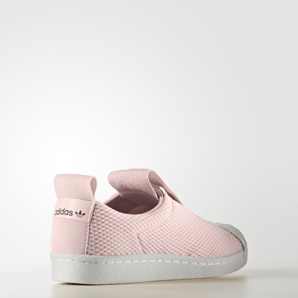 quite nice fd952 debd9 Scarpe Superstar BW Slip-on Icey Pink   Icey Pink   Off White BY9138