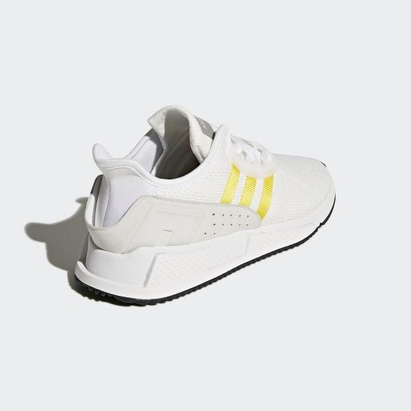 low cost cd499 18ac6 EQT Cushion ADV Shoes Ftwr WhiteEqt YellowSilver Metallic CQ2375