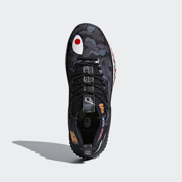 various colors 64ae5 a1f41 Dame 4 BAPE Shoes Pantone  Matte Silver  Core Black AP9975
