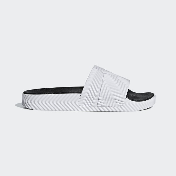 474d18c5f2fef adidas Originals by Alexander Wang Adilette Slides Ftwr White Ftwr  White Core Black D97932