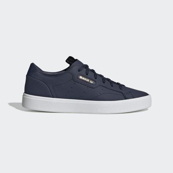 d0527eae2d283 adidas Sleek Shoes Collegiate Navy   Collegiate Navy   Crystal White EE8278