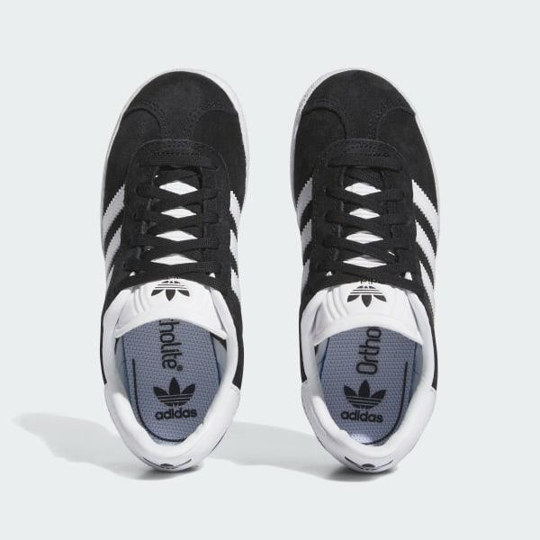 Gazelle Shoes Core Black Footwear White Gold Metallic BB2507 b90f23071