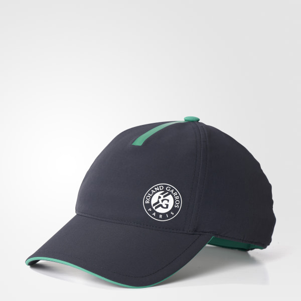 Roland Garros Player Hat Night Grey   Core Green   White S98007 c5566f9ff25