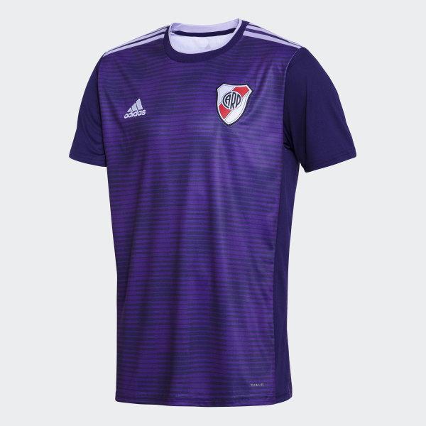 Camiseta Visitante Club Atlético River Plate DARK PURPLE POWER PURPLE GLOW  PURPLE WHITE 5e4883725e4
