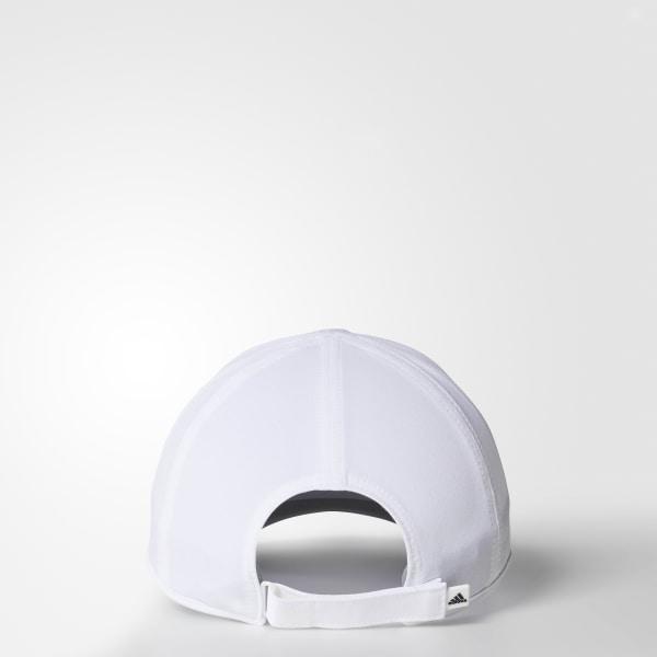 304fac4bf26 adizero II Cap White   Black Q30996