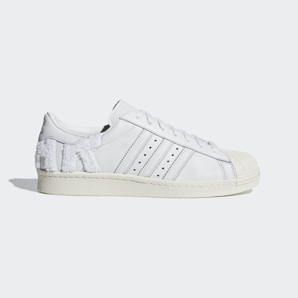 Tênis Superstar 80s CRYSTAL WHITE CRYSTAL WHITE OFF WHITE B37995 a0580dcfa72