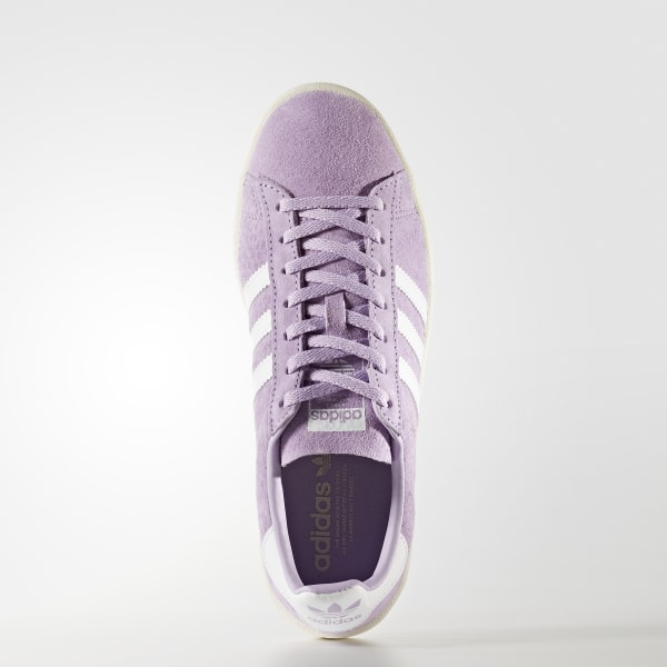 fa60a4e7a00 Campus Shoes Purple Glow   Footwear White   Chalk White BY9848