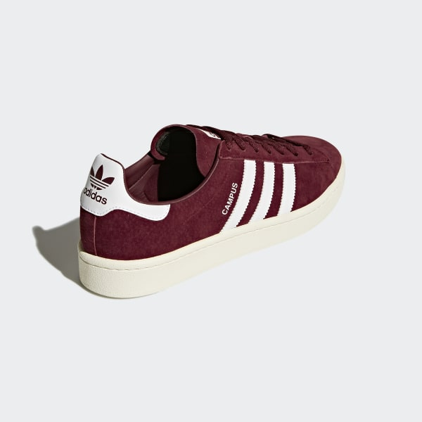 super popular 57e80 c2f79 Campus Shoes Collegiate Burgundy  Cloud White  Chalk White BZ0087