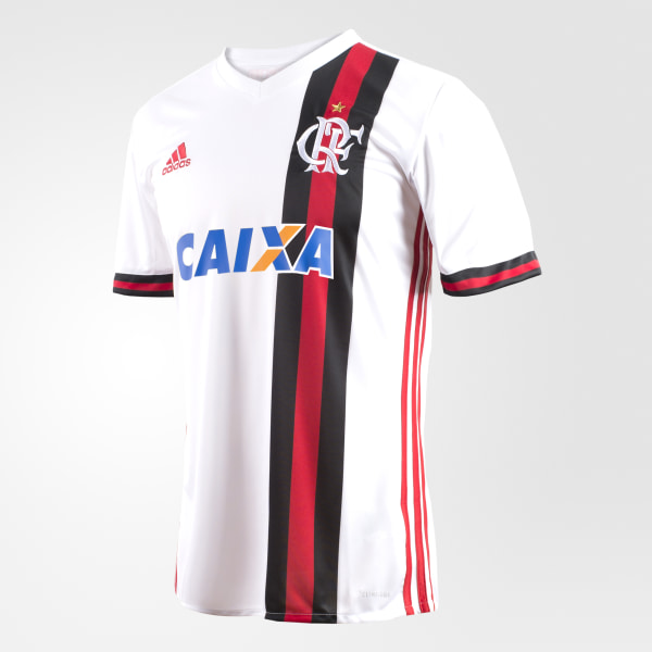 546c93ebdf9 Camisa CR Flamengo 2 WHITE COLLEGIATE RED CZ2324