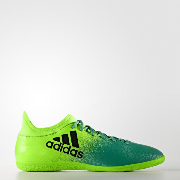 Chuteira X 16.3 - Futsal SOLAR GREEN CORE BLACK CORE GREEN BB5867 2dea8bede5bb4