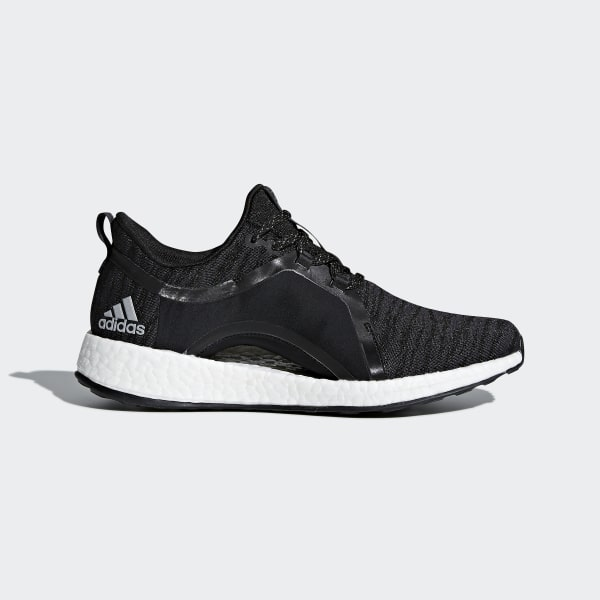 20bdbd005 Pureboost X Shoes Carbon   Silver Metallic   Core Black BY8928