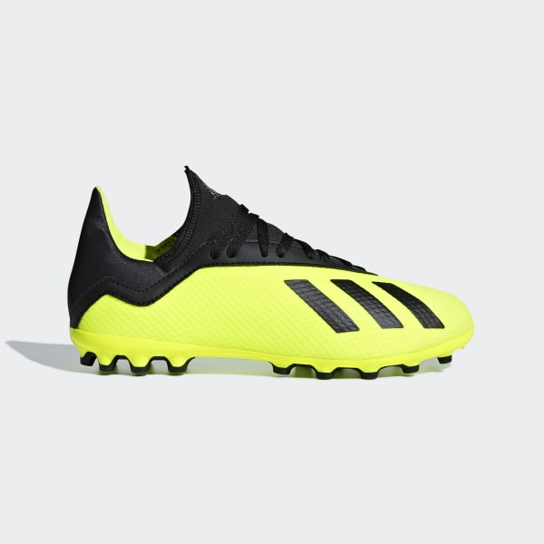 f0c6d3068a648 Bota de fútbol X 18.3 césped artificial Solar Yellow   Core Black   Solar  Yellow CG7168