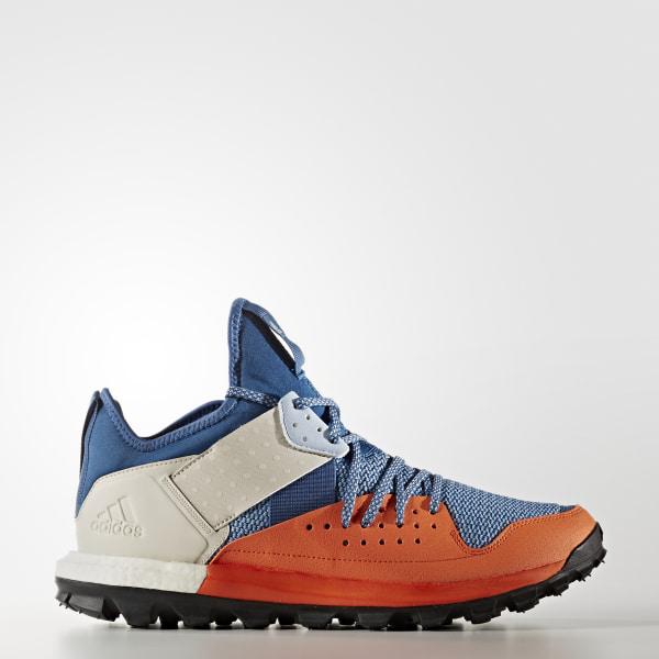 0dacf34d95ae Response Trail Shoes Core Blue   Core Black   Energy Orange BB1657