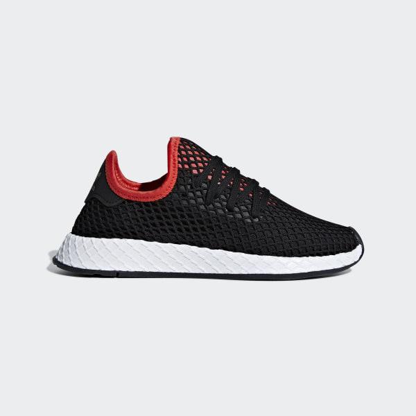 3a74f89ff69cae Deerupt Runner Shoes Core Black   Core Black   Cloud White B41876