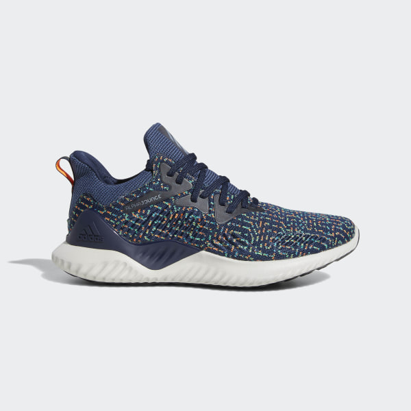 cbfe58017 Alphabounce Beyond Shoes Collegiate Navy   Tech Ink   Shock Lime CG5521