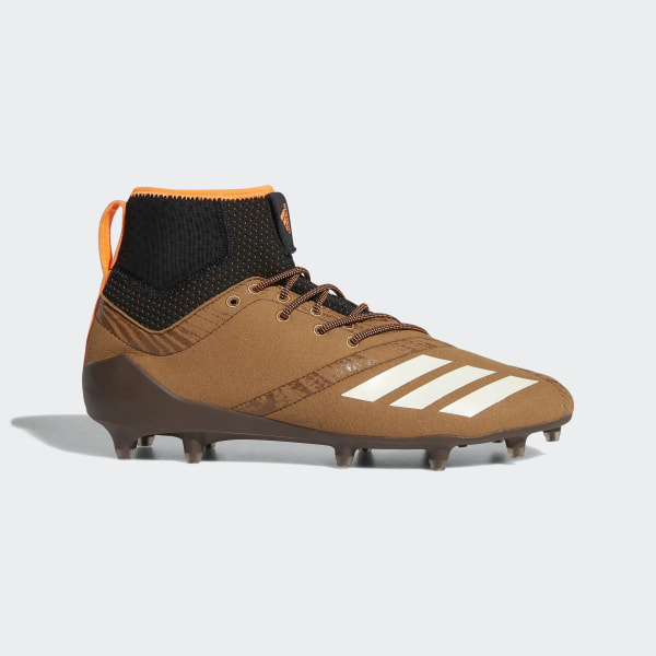 Adizero 5-Star 7.0 Upstate Mid Cleats Raw Desert   Running White   Core  Black cce5392af229