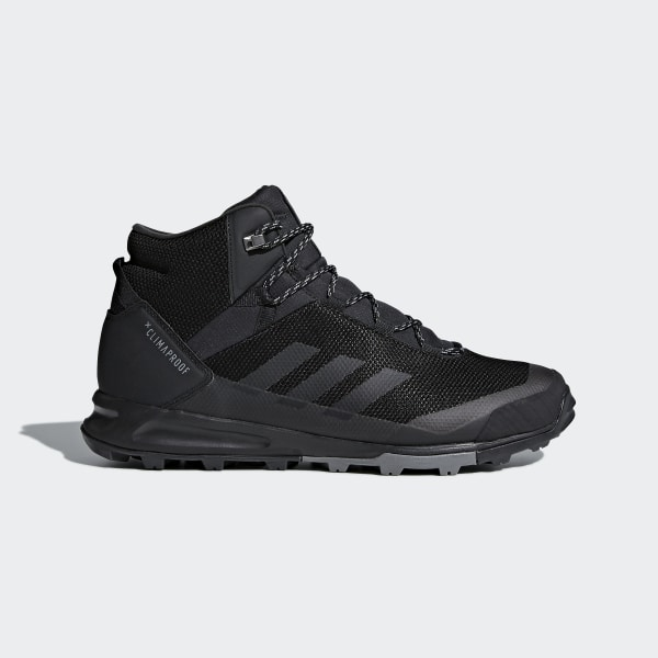 0a200f354fa72 adidas TERREX Tivid Mid ClimaProof Shoes - Black