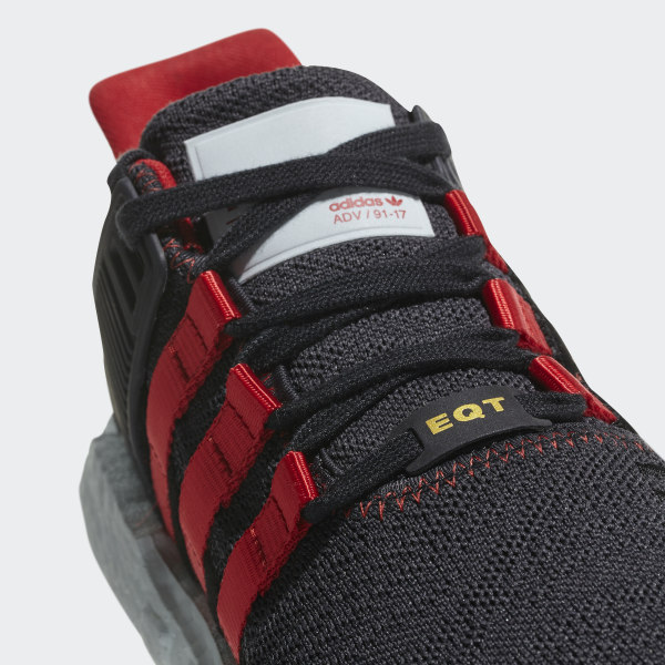 6e819dedddbc EQT Support 93 17 Yuanxiao Shoes Carbon Core Black Scarlet DB2571