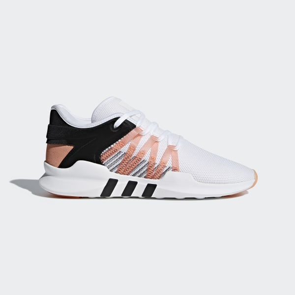 cheap for discount 63db9 a0f56 Tenis EQT ADV Racing FTWR WHITE CHALK CORAL S18 CORE BLACK CQ2156