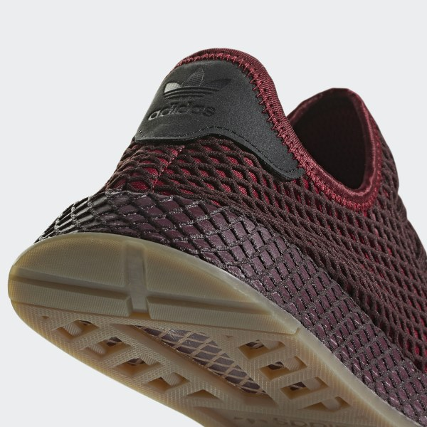 more photos 2474e d7bf7 Deerupt Runner Shoes Collegiate Burgundy  Collegiate Burgundy  Ash Green  B41773