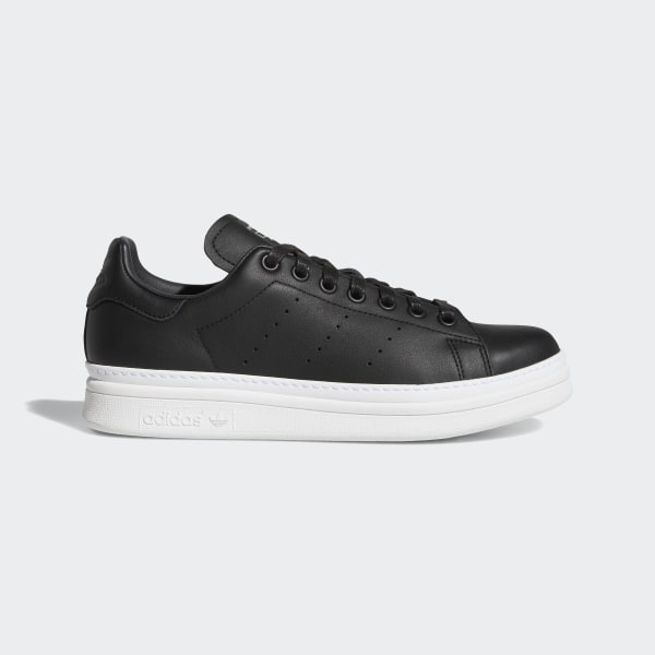 new product 9d220 dbe76 Stan Smith New Bold Shoes Core Black   Core Black   Cloud White B28152