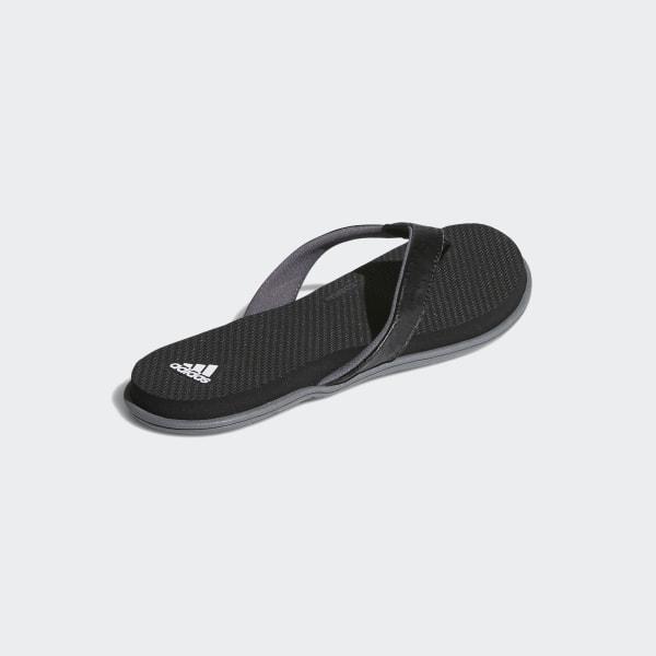 6d483a47048b42 Cloudfoam One Thong Sandals Core Black   Cloud White   Grey Four B41746