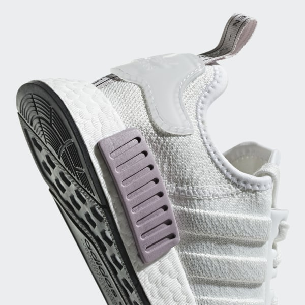 733fc842a NMD R1 Shoes Crystal White   Crystal White   Orchid Tint BD8024