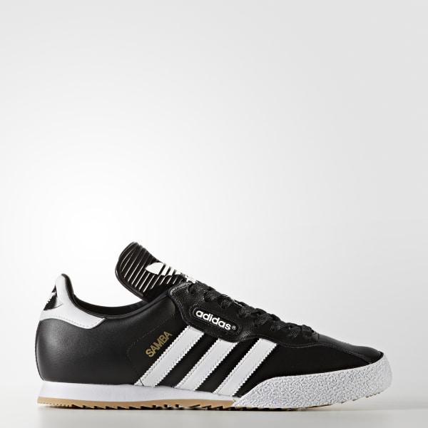 c6470ac4cbd729 Samba Super Shoes Black White 019099
