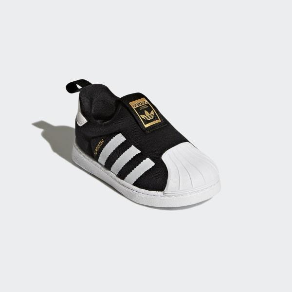 00fd245169 Superstar 360 Shoes Core Black   Cloud White   Cloud White S82711