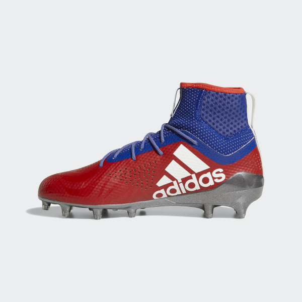 hot sale online 69e52 ba673 Adizero 5-Star 7.0 Philadelphia Mid Cleats Power Red  Running White   Mystery Ink