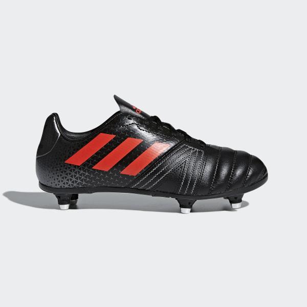 dd31fccd403d All Blacks SG Junior Boots Core Black Hi-Res Red Night Metallic CM7445