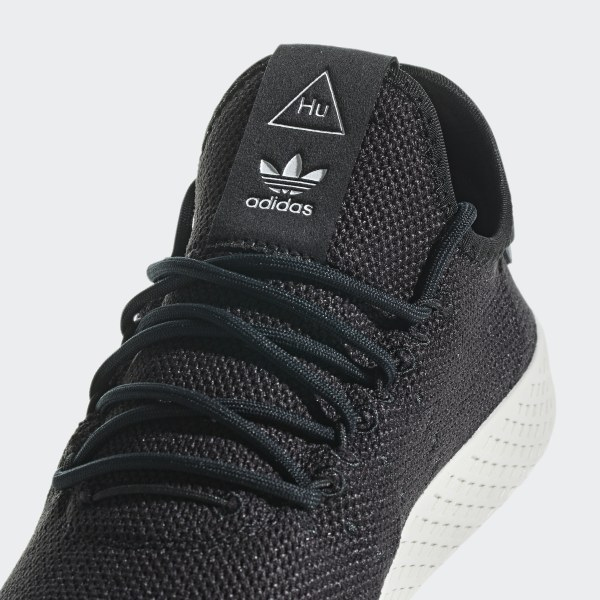 70cb71e174517 Pharrell Williams Tennis Hu Shoes Core Black   Core Black   Chalk White  AQ1056