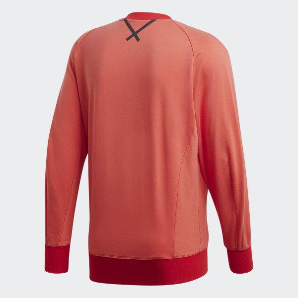 buy online 11e3d e00c2 Oyster Holdings XBYO Crew Sweatshirt Trace Scarlet CW0750