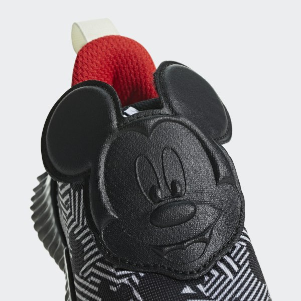65c9dde9e87 FortaRun Mickey Shoes Core Black   Off White   Active Red D96916