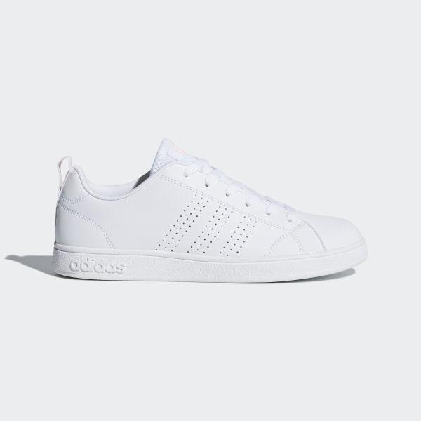 dc0c95d3eb9 Sapatos VS Advantage Clean Ftwr White   Ftwr White   Haze Coral DB0581